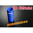 89 mm 3.5 inch Corrugated Silicone Hose for Turbocharger Systems - Autobahn88 ( ASHU08-89B )