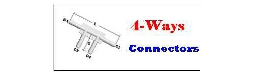 4 Ways Connectors